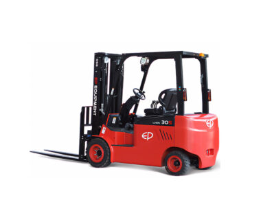 Elektrische lithium-ion 4-wiel heftruck 3000 kg met extra grote accu (EP CPD30)
