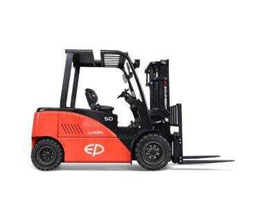 Elektrische lithium-ion 4-wiel heftruck 5000 kg met cabine (EP CPD50F8)