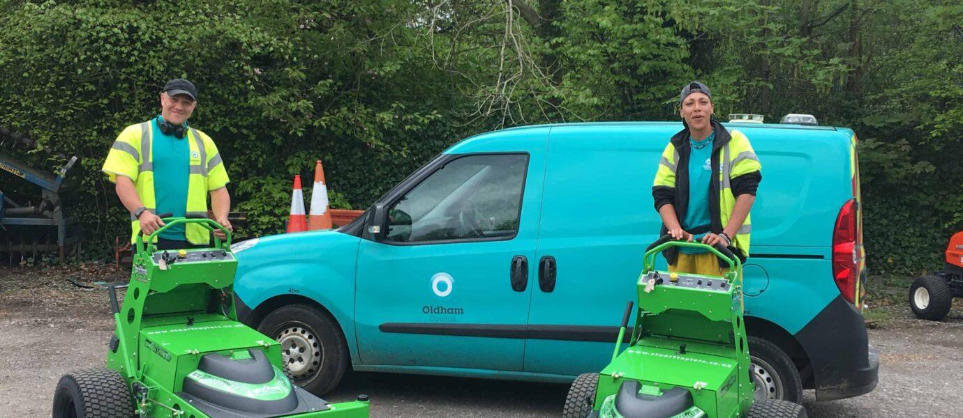 Elektrische maaiers buiten Nederland
