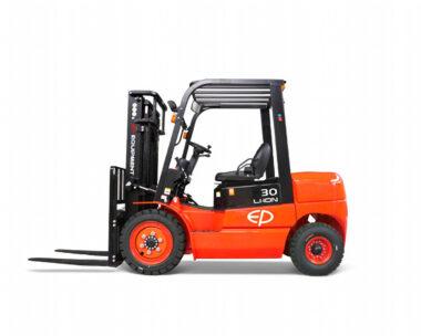 Elektrische lithium-ion 4-wiel heftruck 3000 kg (EP EFL302)
